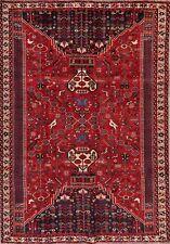 Traditional Tribal Rug Wool Handmade Oriental Geometric Carpet 6 x 9 Stunning