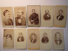 Hanau - Familie August Lüer & Emilie geb. Demmert ? ab 1866 / 10 CDV