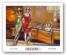 Girlfriends I Elya DeChino Art Print 15x20