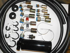 UNIVERSAL  AC HOSE KIT with Drier and Binary Switch, for Aftermarket Systems