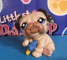 Authentic Littlest Pet Shop - Hasbro Lps - Bulldog Dog #1765