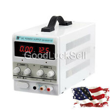 Lab Adjustable DC Power Supply Precision Variable Digital Voltage 0-10A 0-30V US