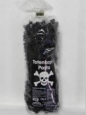 2x 250g Motiv-Nudeln schwarz Totenkopf,Kinder-Geburtstag,Pasta,Party,Halloween