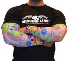 Missing Link Spf 50 Face Off Arm Pro Compression Sleeves - Apfo