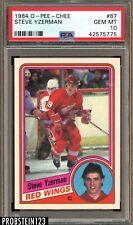 1984 O-Pee-Chee OPC Hockey #67 Steve Yzerman RC Rookie HOF PSA 10 GEM MINT
