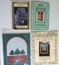 x4 Craft Patterns Piecemakers Goose Quilt Amity Boxes Amish Bars Country Pines