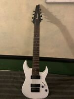 Ibanez RG Series RG8 W/ SEYMOUR DUNCANS 8-String Electric Guitar, White #RG8WH