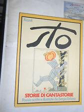 (SERGIO TOFANO) STO - STORIE DI CANTASTORIE, RIZZOLI, 1974