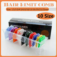 10 Sizes Strong Magnet Premium Hair Clipper Cutting Guide Comb For WAHL Trimmer