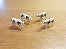 Corgi 58 Beast Carrier - Four Original Calves Plastic Animal Figures