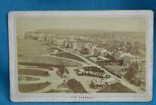 1870/80s CDV France Carte De Visite Photo Dieppe Vue Generale