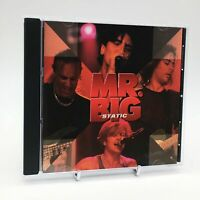 MR.BIG STATIC Rare CD Album - Complete, VG Condition