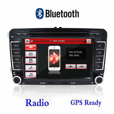 "7"" 2Din BT Car DVD CD GPS Autoradio for VW GOLF 5 6 PASSAT TIGUAN EOS Jetta SEAT"