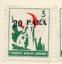 Turkey 1950-52 Early Issue Fine Mint Hinged 20p. Surcharged 085935