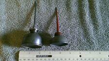 Vintage Pair Mechanics Oil Cans