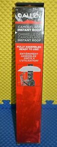 ALLEN Camoflauge Instant Roof Fully Assembled #190