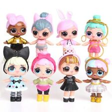 8Pcs LOL SURPRISE DOLL Blind Mystery Toy PVC Figure Cake Topper Kid Toy Gift
