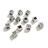 100 Tibetan Silver 4.5x4mm Spacer Beads Jewellery Making