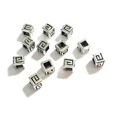 100 Tibetan Silver 4.5x4mm Spacer Beads Jewellery Making