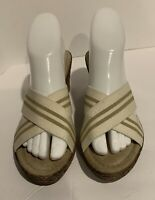 Tuscany by easy street made in Italy Wedge Sandal Womens size 7WW
