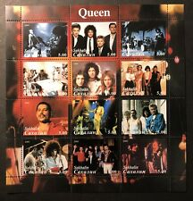 QUEEN FREDDIE MERCURY STAMPS 2000 MNH POP ROCK BAND BRIAN MAY TAYLOR DEACON ca