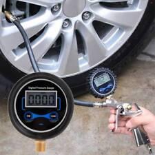 Digital Tire Pressure Gauge Car Motorcycle Bike Tyre Tester Air PSI Meter 1/8NPT