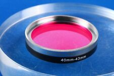B+W 43mm UV IR Cut 486 MRC Digital-Pro Chrome Filter w/40 - 43 mm step up ring