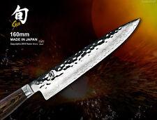 Shun Premier Damascus Sandwich Utility Knife 6.3 in Cutlery Cookware KAI Japan