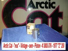 """Snowmobile Piston # 3002-376 oem 1977 Arctic Cat """"Z"""" 250 """"nos""""  Vintage"""