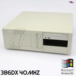 Retro 80386 386 Dx 40MHZ Computer PC-Chips M321 386 Windows 99 3.11 Ms-dos