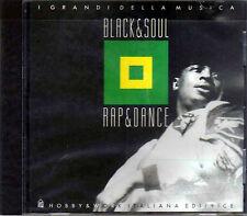 CD - BLACK & SOUL - RAP & DANCE - I GRANDI DELLA MUSICA - 1995 BMG -