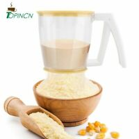 Flour Sifter Strainer Powder Mesh Sieve Baking Supplies Kitchen Tools With Lid