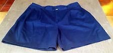 EUC Trader Bay Shorts. Size 38.  Classic Navy Blue Shorts.  Pleated Front.