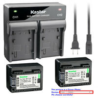 Kastar Battery AC Rapid Charger for BP-718 & Canon VIXIA HF R700 HFR700 Camera