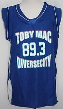 TOBYMAC Basketball Jersey 89.3 Diversecity KSBJ Special Events XL Blue Hip Hop