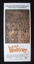 THE WARRIORS 1979 Orig Australian daybill movie poster Michael Beck Remar gangs