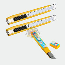 Window Film Tint Tools 2 Pcs knife 9mm 10pack Blades Stainless Steel