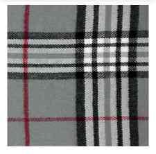 New Winter Warm 100% Cashmere Feel Plaid Wraps Scarves Gray