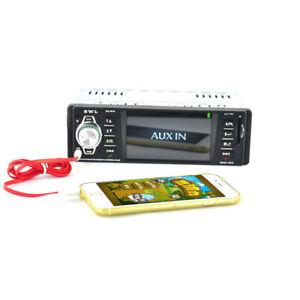 1Din Universal Bluetooth Car MP5 Player MP3 Card Machine Radio Support Rear View