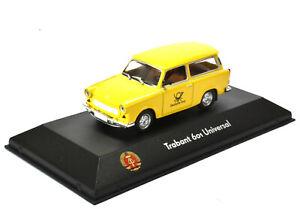 Trabant 601 Universal Deutsche Post Maßstab 1:43 von Atlas