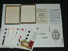 Vintage Gypsy Witch Fortune Telling Tarot Playing Cards Complete Set USA