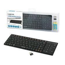 Funk Tastatur 2.4 GHz mit Touchpad Kabellos Wireless Keyboard Touch Pad PC & TV