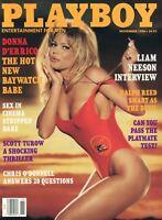 PLAYBOY NOVEMBER 1996 Ulrika Ericsson Donna D'Errico Liam Neeson Chris O'Donnell