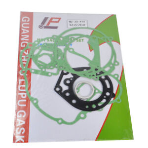For Kawasaki KDX200 95-06 Engine Crankcase Covers Cylinder Gasket Kit Set