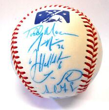 David Wright Adrian Gonzalez Rickie Weeks 2003 PEORIA Autograph Signed Baseball