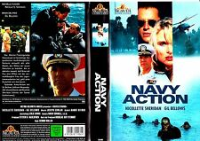 """VHS - """" Navy ACTION ( Silver Strand ) """" (1995) Gil Bellows - Nicollette Sheridan"""