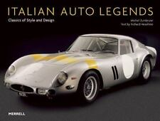 Italian Auto Legends Classics Of Style And Design - Michel Zumbrunn (Hardcover)