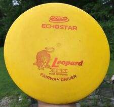 • DISC GOLF INNOVA - ECHOSTAR LEOPARD Fairway Driver Yellow 171g