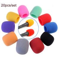 20PACK Handheld Stage Microphone Windscreen Foam Cover Karaoke DJ 10 Color US