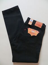 Levi's® 501 Jeans Hose W 38 /L 36, Schwarz ! NEU ! Black Denim, EXTRA Lang ! 110